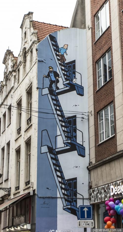 Тинтин в Брюсселе