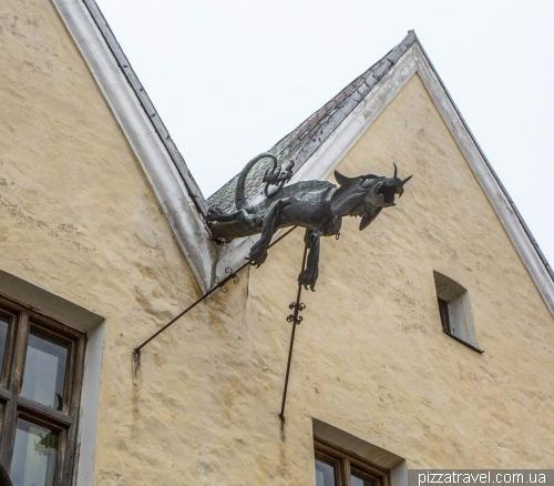 Дракон в Кам'янці-Подільському