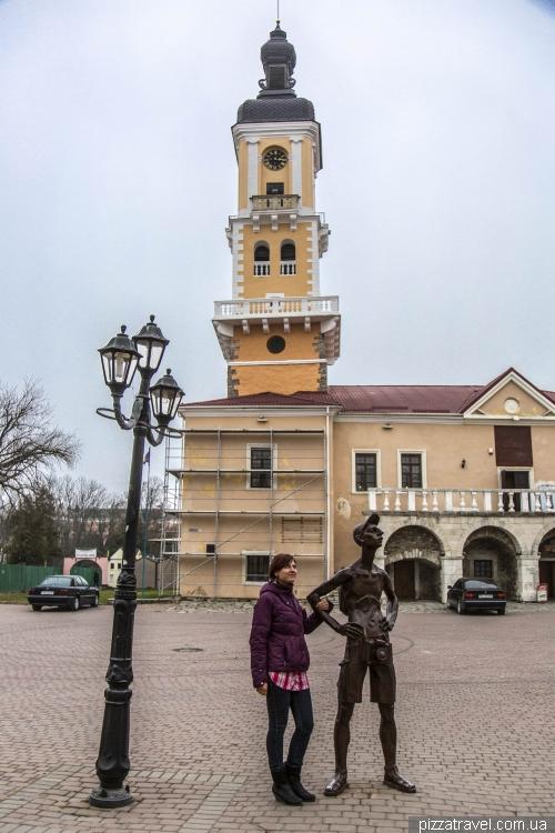 Пам'ятник туристу-фотографу