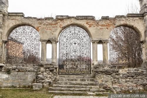 Залишки вірменського храму
