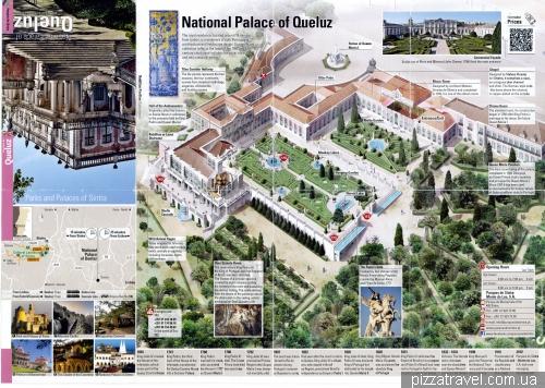Карта дворца Келуш