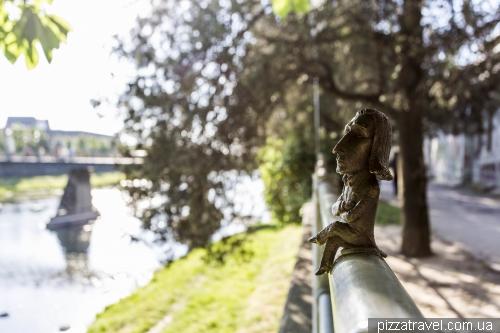 Мини-скульптуры Ужгорода