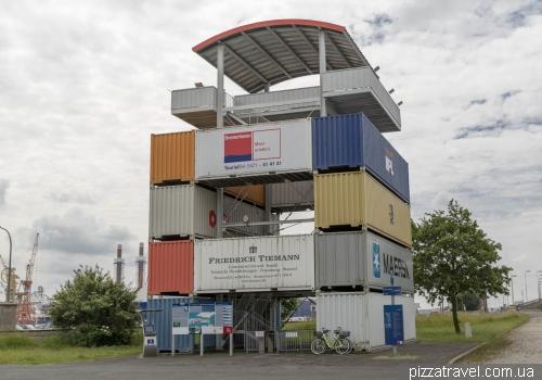 Смотровая площадка Container-Aussichtsturm