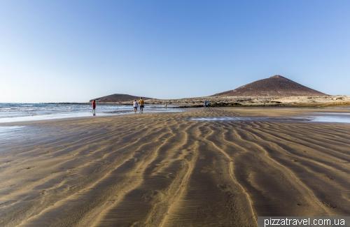 Пляж Эль Медано на острове Тенерифе