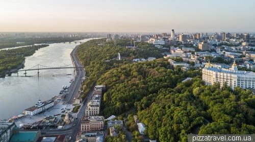 Green slopes of Kiev