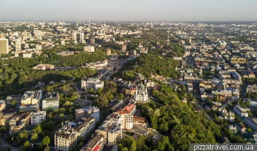 View of old Kiev