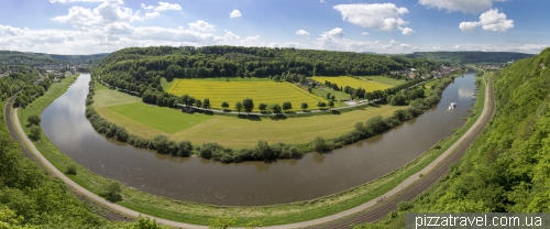 Weser-Skywalk - смотровая площадка над рекой Везер