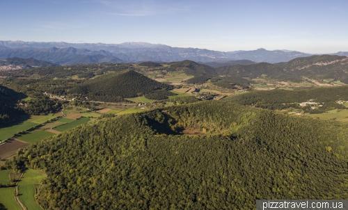 Вулканический парк Гарроча