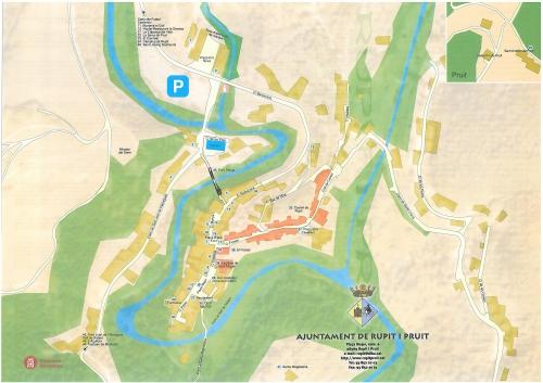 Карта города Рупит