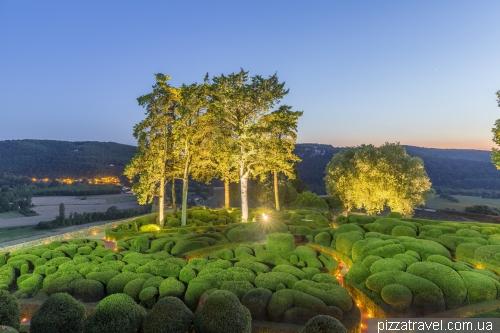 Сад Маркессак (Jardins de Marqueyssac)