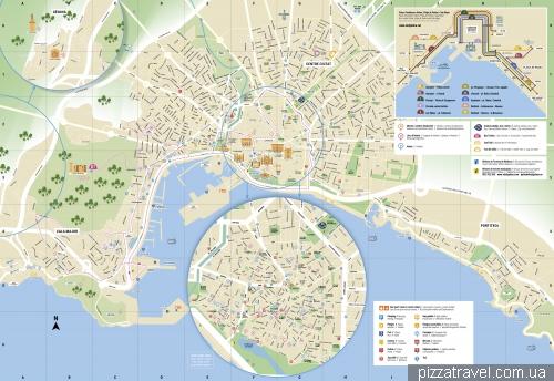 Карта Пальмы