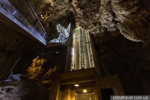Печера Падірак (Gouffre de Padirac)