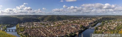 Смотровая на Каор (Le Mont Saint Cyr)