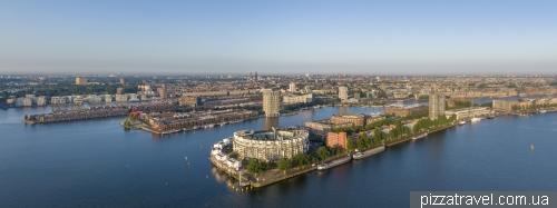 The Eastern Docklands (Oostelijk Havengebied) in Amsterdam