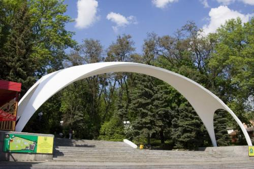 Arch in the Gorky Park