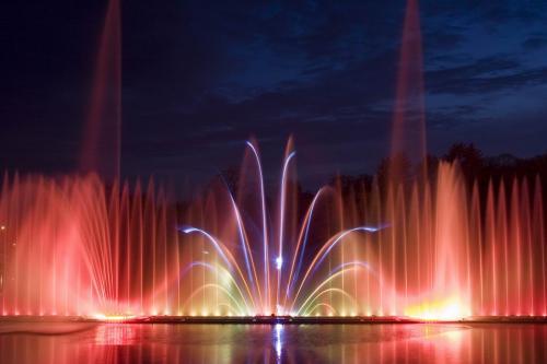 Винницкий светомузыкальный фонтан