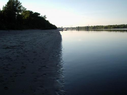 Пляжи Канева