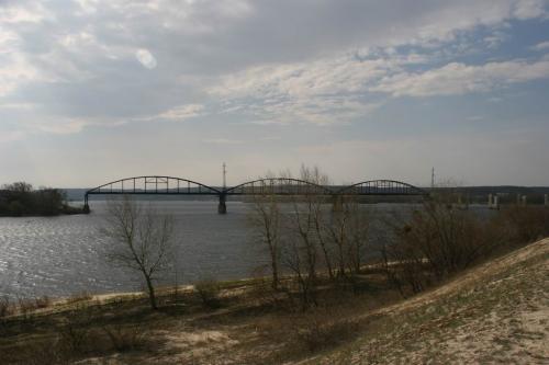 Мост, разрушенный во время Второй Мировой Войны
