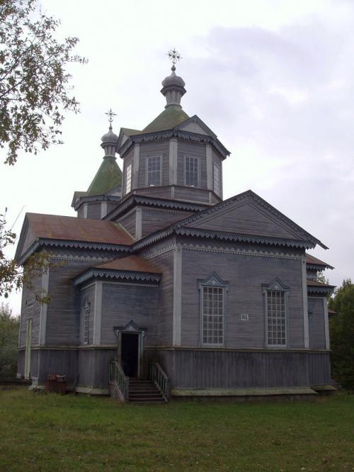 В этой большой церкви находится музей космонавтики.
