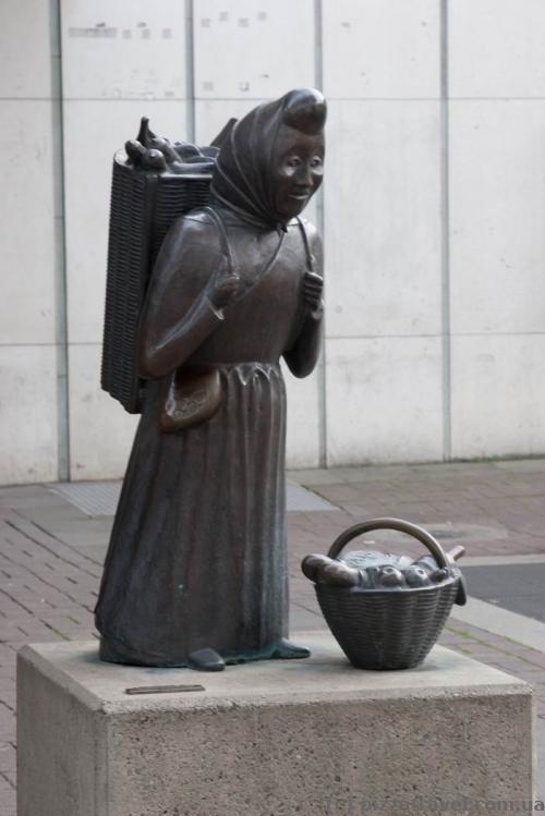 Уличная скульптура в Ганновере