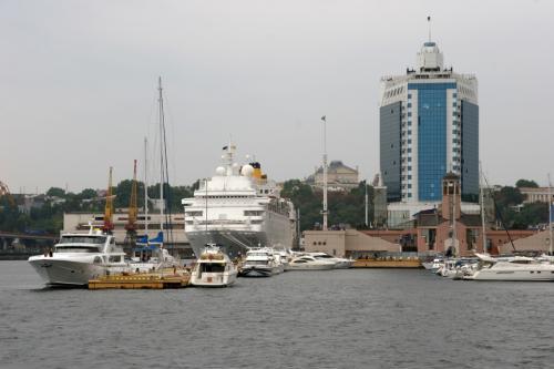 Одеський морський вокзал. Готель