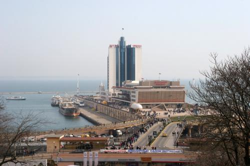 Одесский морской вокзал. Гостиница