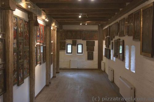 Museum of icon inside the Radomysl Castle