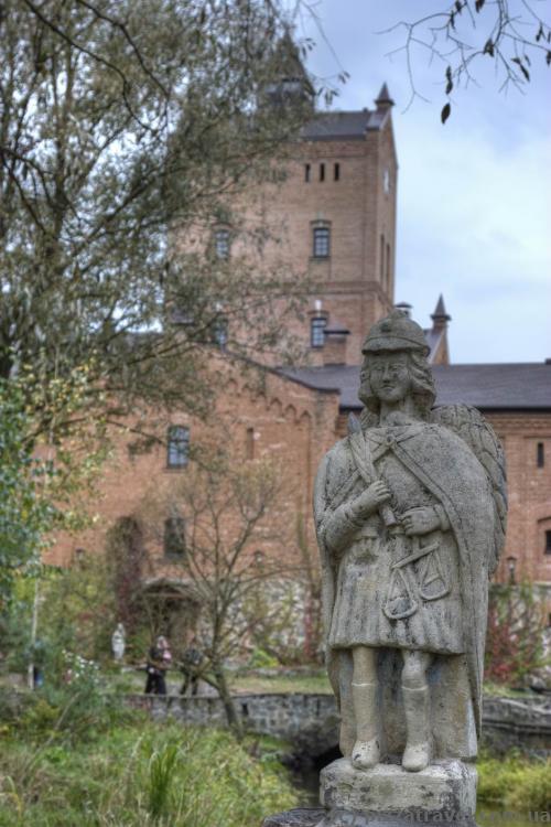 Sculpture near the Radomysl Castle