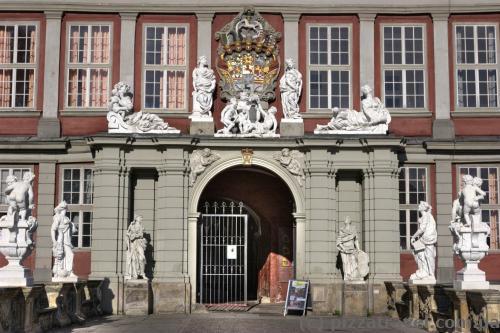 Вход во дворец в Вольфенбюттеле