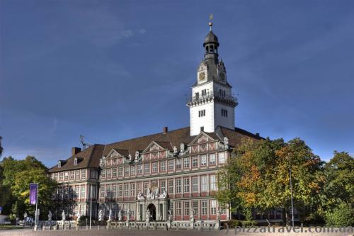 Замок-дворец в Вольфенбюттеле