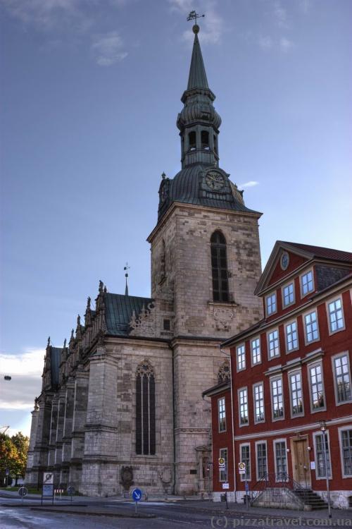 Церковь Мариенкирхе в Вольфенбюттеле (начало XVII века)