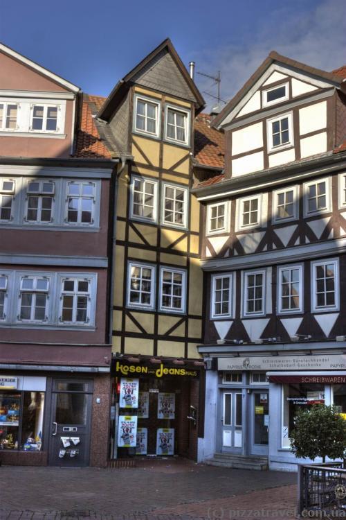 Старый город в Вольфенбюттеле
