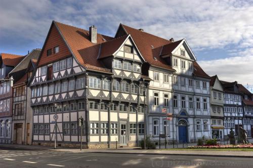 Фахверковые дома в Вольфенбюттеле