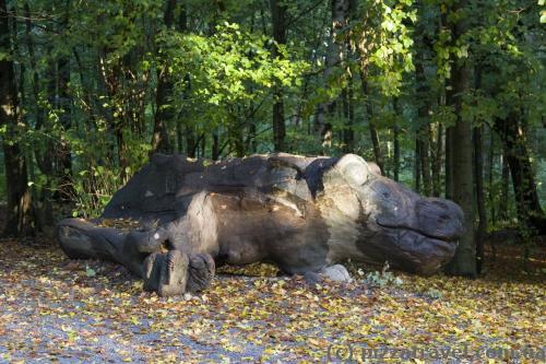Эта штука напугала нас в безлюдном лесу =)