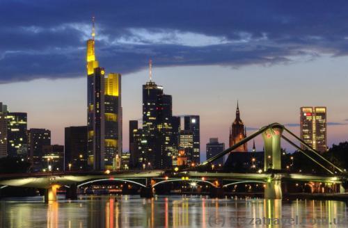 Нічний Франкфурт