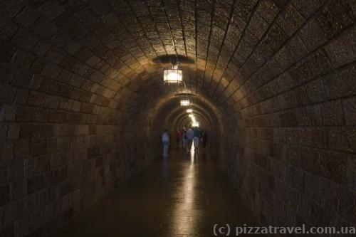 Тоннель длиной 124 метра