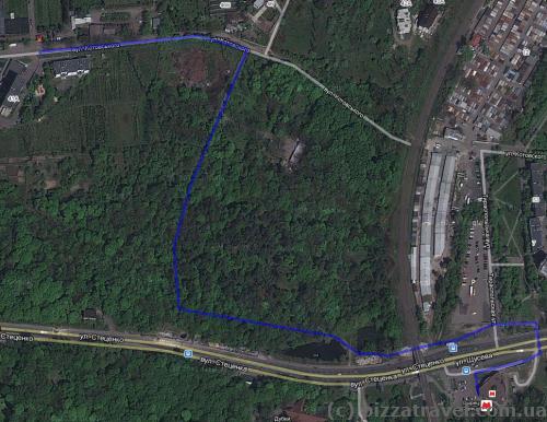 Как пройти к Сырецкому дендропарку
