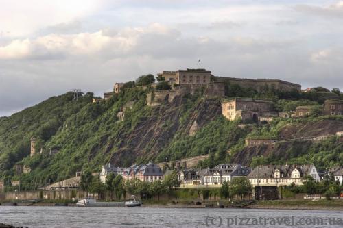 Крепость Ehrenbreitstein