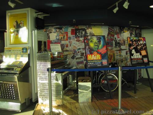Рок-музей на телебашне в Мюнхене