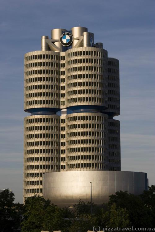 Завод БМВ в Мюнхене