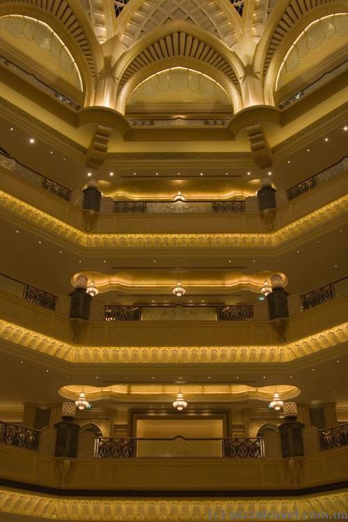 Отель Emirates Palace в Абу-Даби