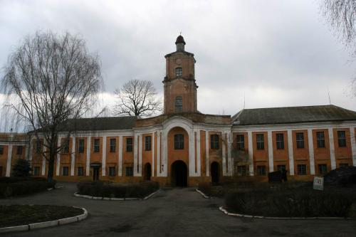 Замок Радзивиллов, теперь психиатрическая больница