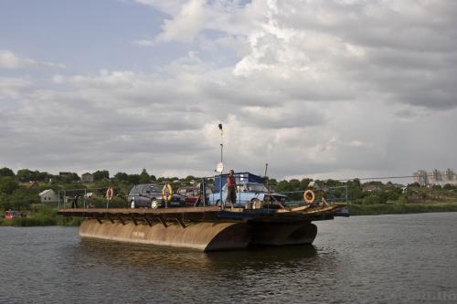 Crossing the Pivdennyi Bug in Yuzhnoukrainsk