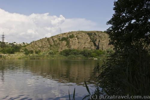 Южный Буг около Южноукраинска
