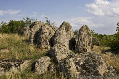Скальные породы около Южноукраинска