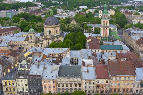 Вид со львовской ратуши