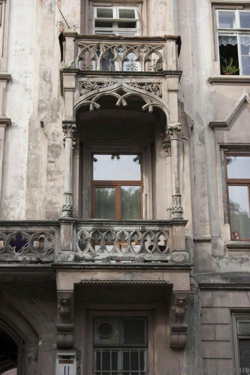 Балкон в доме на улице Стефаника